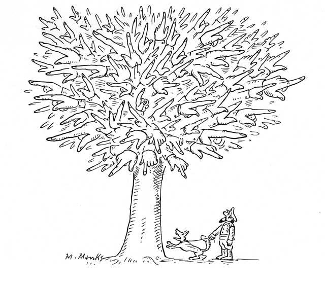 Baum der Unkenntnis oder Terroristen-Fahndung