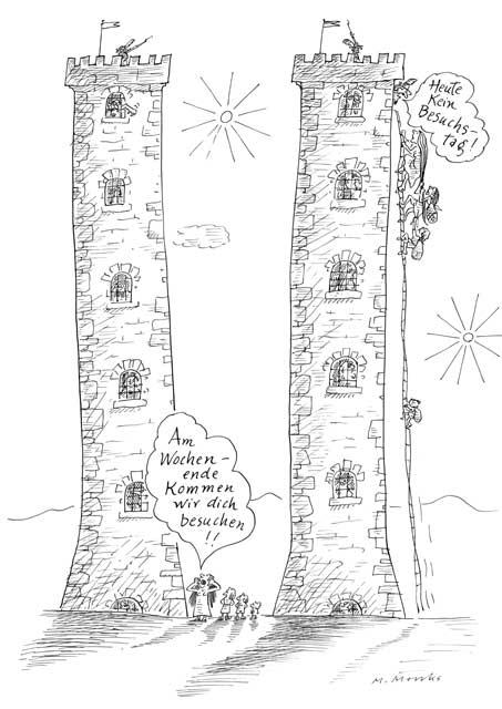 Besuch auf Gefängnistürmen