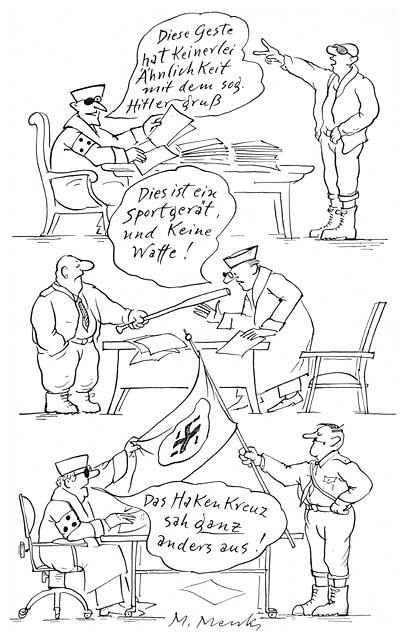 """Das Hakenkreuz sah ganz anders aus!"""