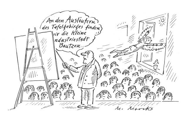 """Die Flatter machen oder: """"Die kleine Industriestadt Bautzen ..."""""""