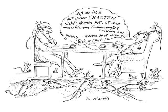 Die Roten Ratten arbeiten subversiv …