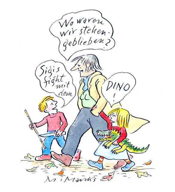 """""""Sigis fight mit dem Dino!"""" (1)"""