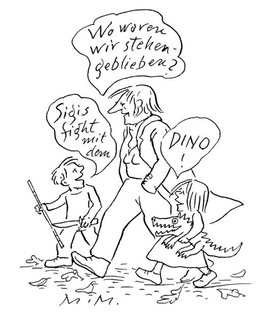"""Sigis fight mit dem Dino!"" (2)"