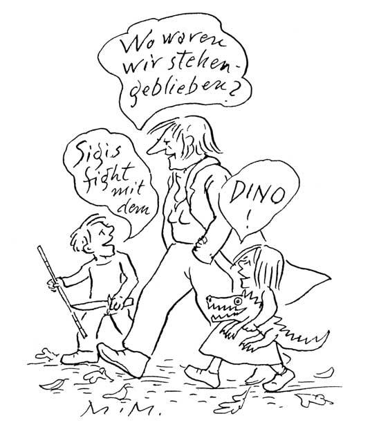 """""""Sigis fight mit dem Dino!"""" (2)"""