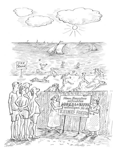FKK-Strand - erfreulich und unerfreulich