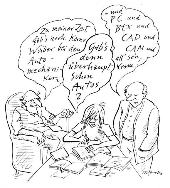 """Gab's denn überhaupt schon Autos?"""