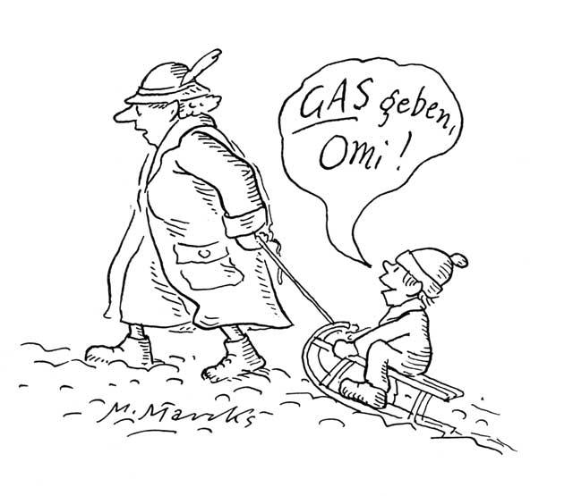 """""""Gas geben, Omi!"""" II"""