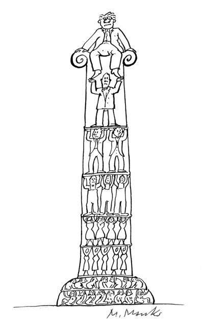 Klassische Säule