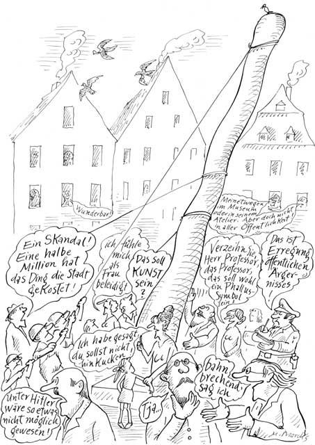 Kunst als öffentliches Ärgernis