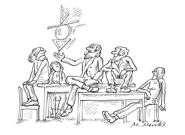 Lehrer als Jongleur