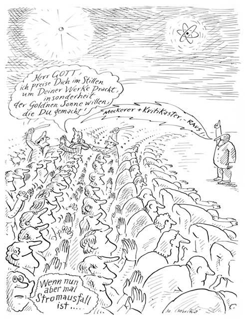 """""""Meckerer und Kritikaster - raus!"""""""