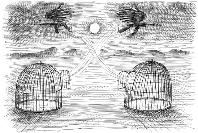 Offene Käfige: Geflohen oder freigelassen?