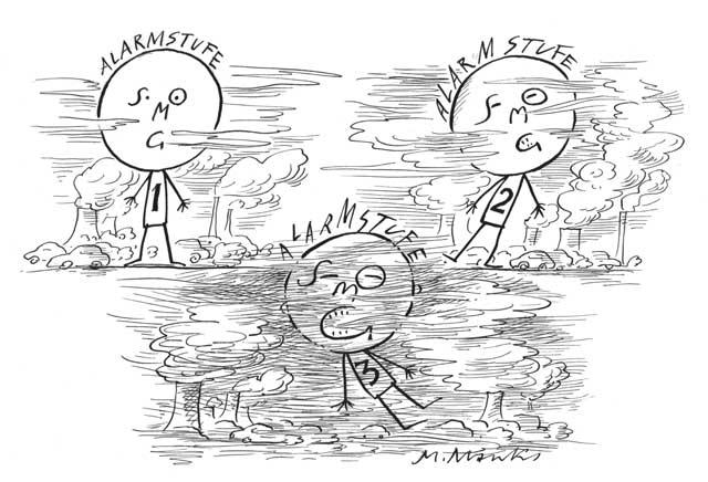 Smog Alarm - Stufen 1, 2 und 3