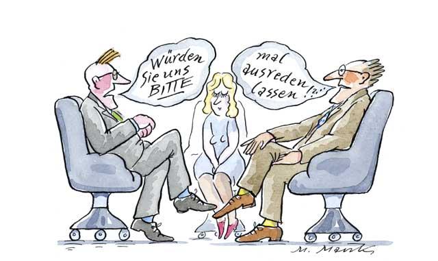 Verständigungsprobleme am Arbeitsplatz - 2