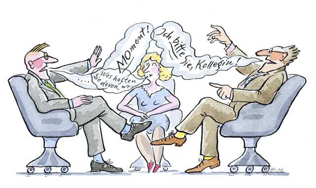 Verständigungsprobleme am Arbeitsplatz - 3
