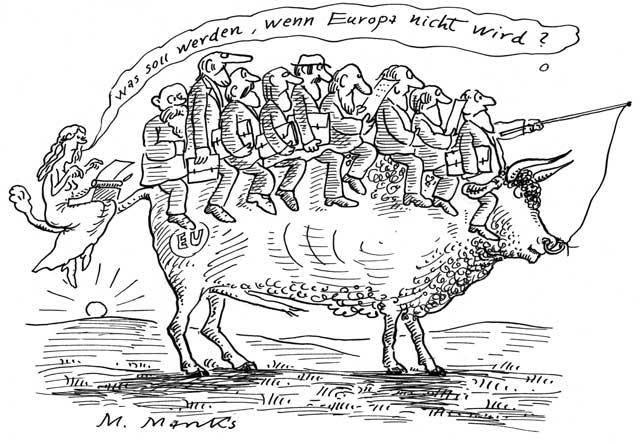 """""""Was soll werden, wenn Europa nicht wird?"""""""