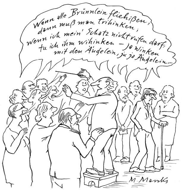 """""""Wenn alle Brünnlein fließen ..."""""""